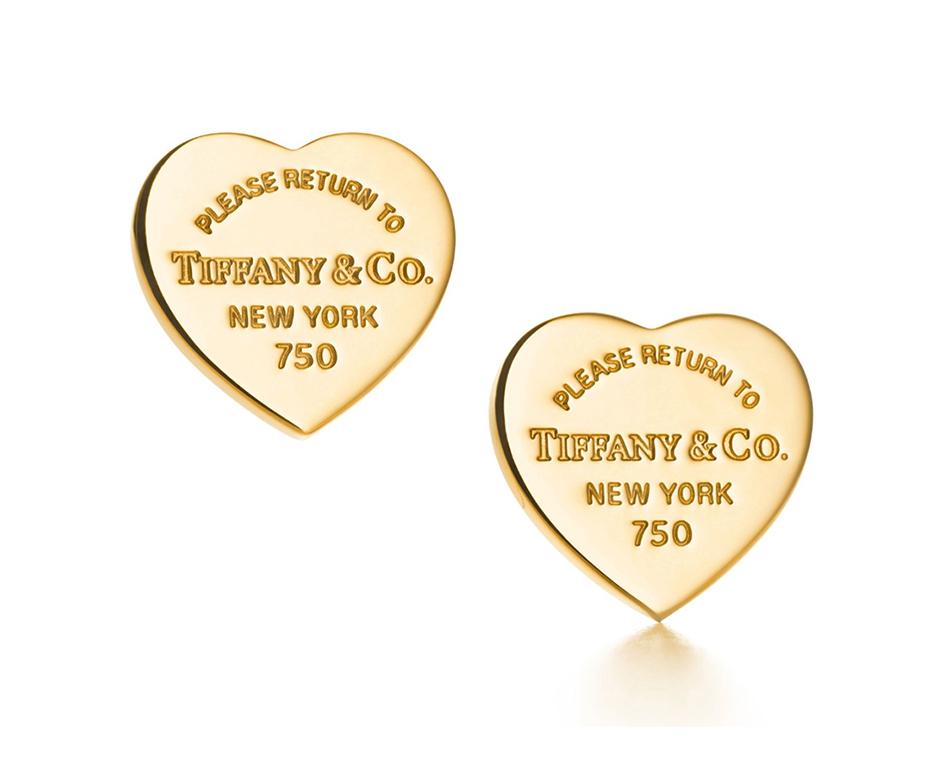Cерьги в форме сердца Return to Tiffany арт. TF-24751