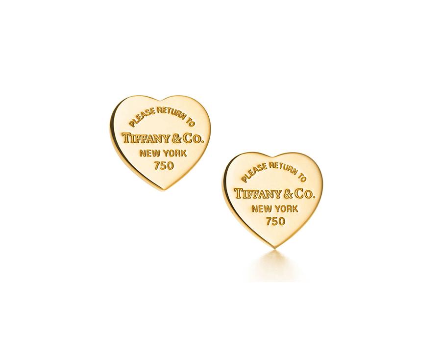 Миниатюрные серьги в форме сердца Return to Tiffany арт. TF-08822