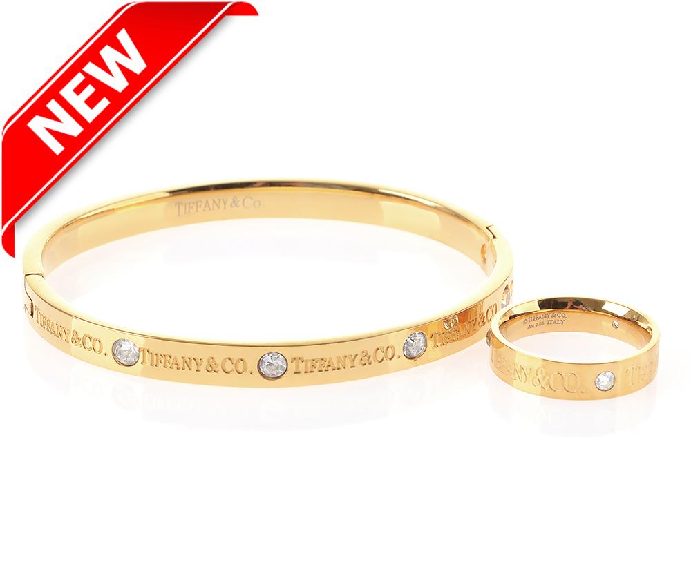 Браслет Tiffany&co с кольцом арт. TF-24819