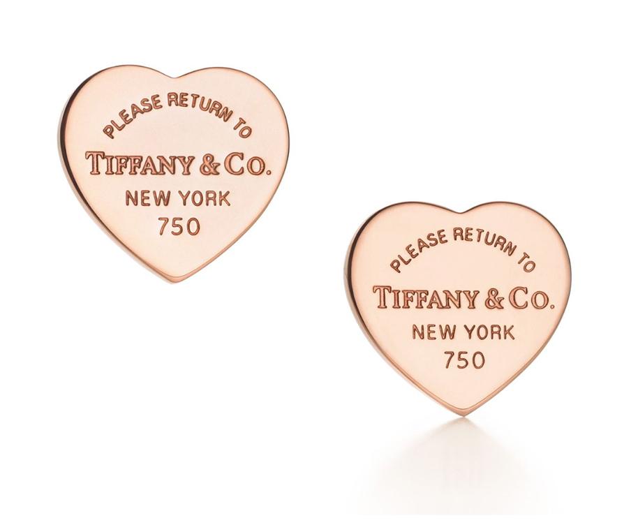 Cерьги в форме сердца Return to Tiffany арт. TF-24752