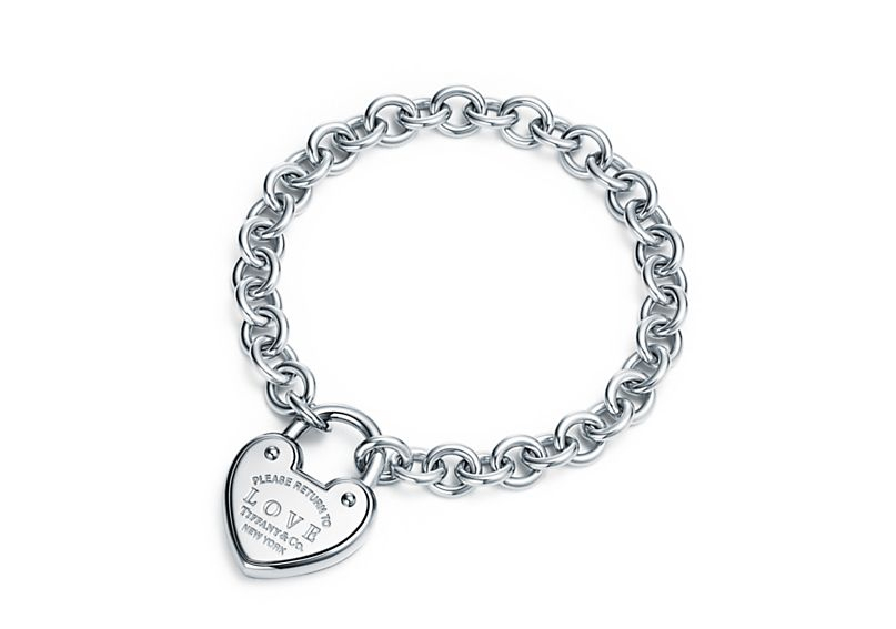 Браслет Love с замком Return to Tiffany арт. TF-12775