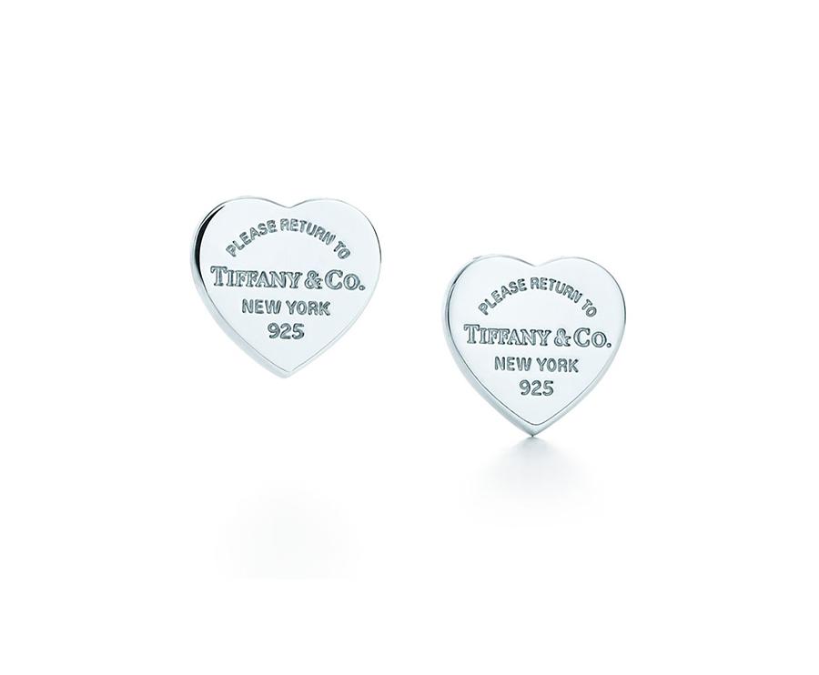 Миниатюрные серьги в форме сердца Return to Tiffany арт. TF-08787